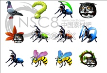 Link toCrystal animal icons