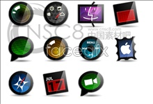 Link toCrystal apple desktop icons