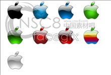 Link toCrystal apple logo icons