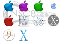 Link toCrystal apple series icons