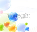 Link toCrystal ball spinning line vector