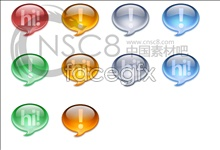 Link toCrystal bean, an exclamation point icon