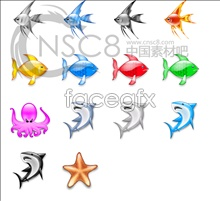 Link toCrystal bright sea fish icon