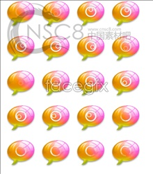 Link toCrystal bubble desktop icons