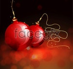 Link toCrystal christmas hanging ball 1 vector