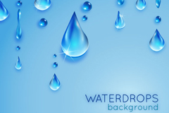 Link toCrystal clear water background vector