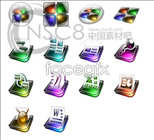 Link toCrystal effects office software icons