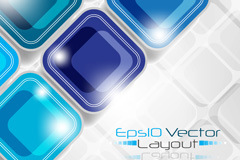 Link toCrystal square background vector