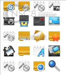 Link toCrystal stereo desktop icons