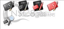 Link toCss computer desktop icons