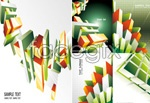 Link toCube commercial background vector