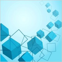 Link toCubes background vector