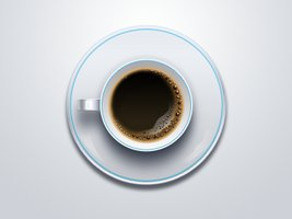 Link toCup of coffee free psd and png icon