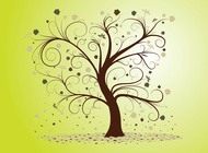 Link toCurly tree vector free