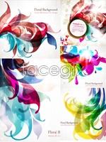 Link toCurrent art background vector