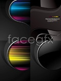 Link toCurrent black background vector