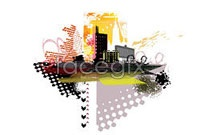 Link toCurrent city silhouette vector iv