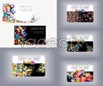 Link toCurrent color card vector