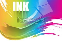 Link toCurrent color inks three vector