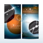 Link toCurrent design banner template vector