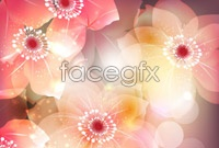 Link toCurrent fancy flowers vector illustration figure iii