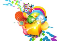 Link toCurrent graffiti design vector