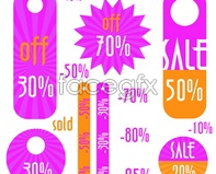 Link tovector sticker promotional tag label Current