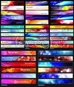 Link toCurrent texture banner vector