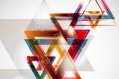 Link toCurrent triangular background vector