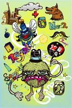 Link toCurrents cartoon illustration vector