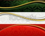 Link toCurve classical shading banner vector