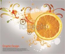 Link toCut orange korea design elements psd