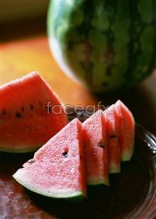 Cut watermelon picture