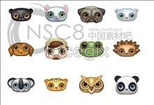 Link toCute animal avatar icons