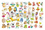 Link toCute animals vector 2