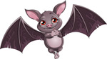 Link toCute anime bat set vector