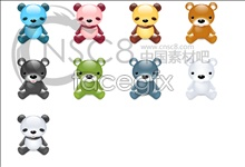 Link toCute bad bear icons
