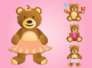 Link toCute bears vector free