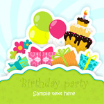 Link toCute birthday card vector