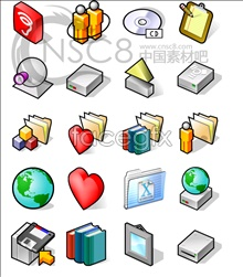 Link toCute block-system icon