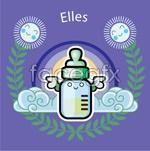 Link toCute bottle theme illustrations vector