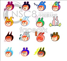 Link toCute bunny emoticons