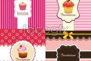 Link toCute cake packaging design vector