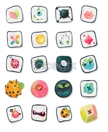 Link toCute candy icons
