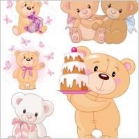 Link toCute cartoon bear vector
