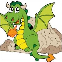 Link toCute cartoon dragon 03 vector