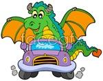 Link toCute cartoon dragon vector