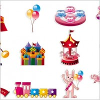 Link toCute cartoon icon playground 01 vector
