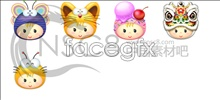Link toCute cartoon icons