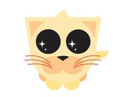 Link toCute cartoon kitty vector free